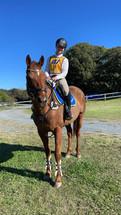 Rider Yasmin at Zone 2 SJ & Equitation