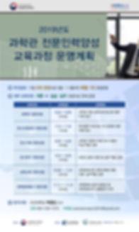 2019년 과학관 전문인력양성 전문교육_교육과정 운영계획.jpg