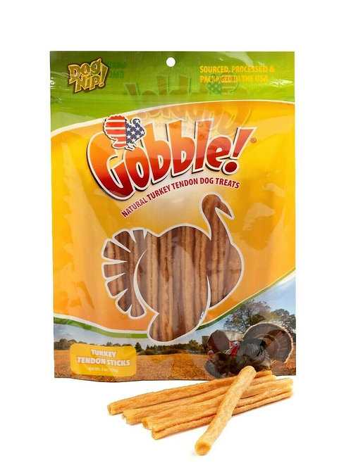 USA Turkey Tendon Sticks Gobble 6 Ounce Package, 22-25 Pieces