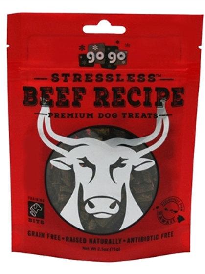 GoGo Stressless Beef Bites- 2.5oz