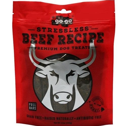 GoGo Stressless Beef Jerky Treats- 6oz