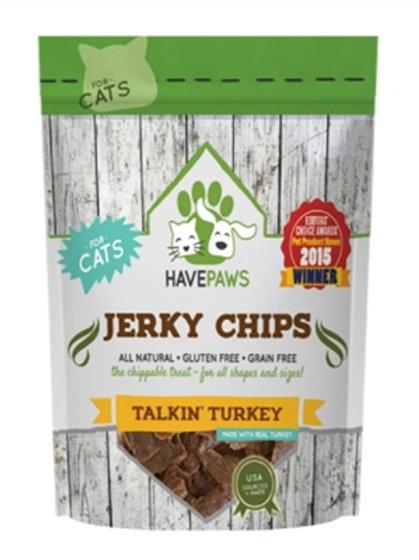 Have Paws Turkey Jerky Cat Treat- 4oz