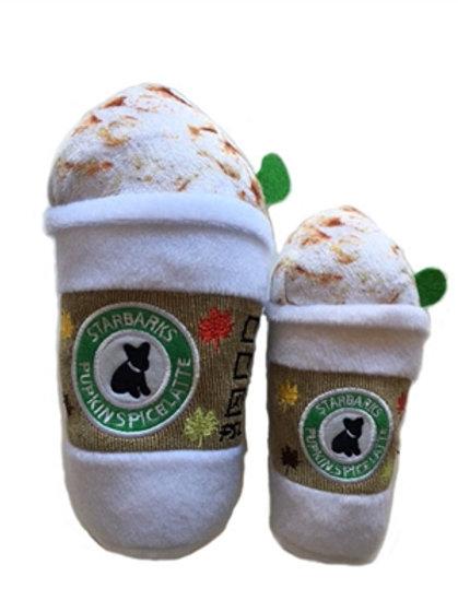"Starbarks Pupkin Spice Latte, Regular 7"" Size"
