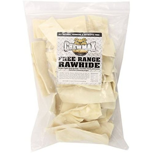 Chewmax Natural Beef Rawhide Chips- 3lb