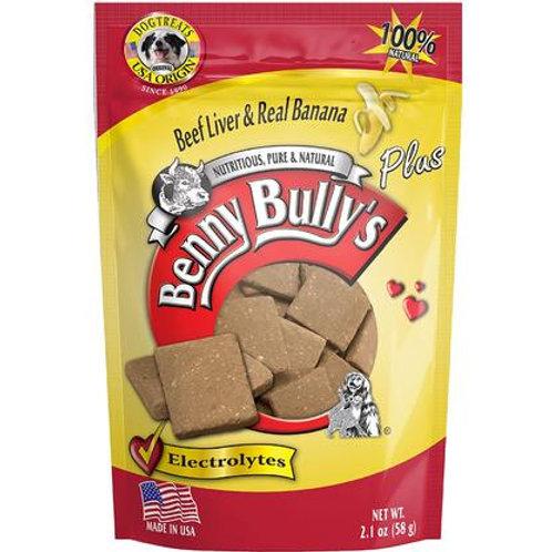 Benny Bully's Freeze Dried Liver and Banana Treats- 2.1oz