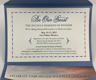 PCCA's Weekend of Wonder Invitation
