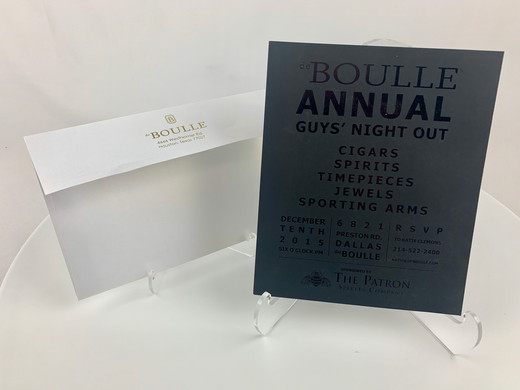 DeBulle Guys Night Out Invitation