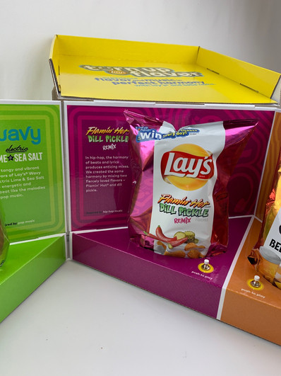 Lays Turn up the Flavor Box