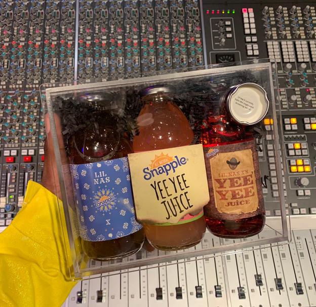 Snaple Yee Yee Juice Box for Lil Nas X