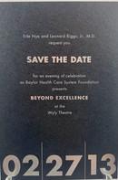 Baylor Event Invitation