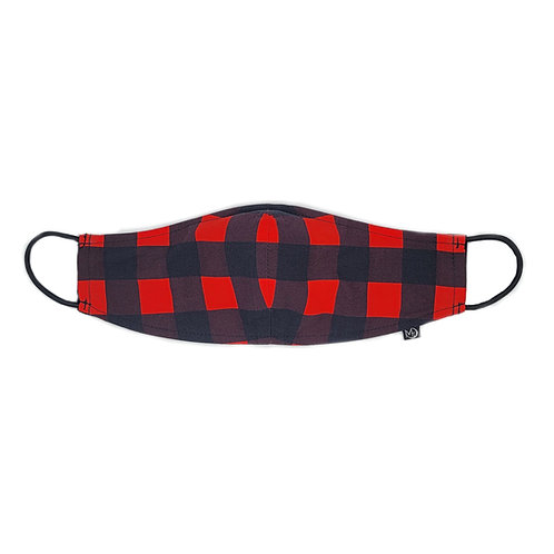 Buffalo Plaid - Premium Mask