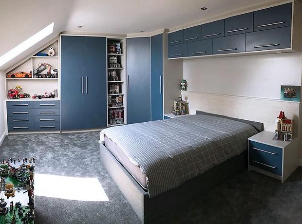 Bespoke Loft Bedroom Furniture