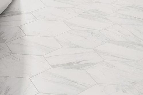 Carrara Hexagon