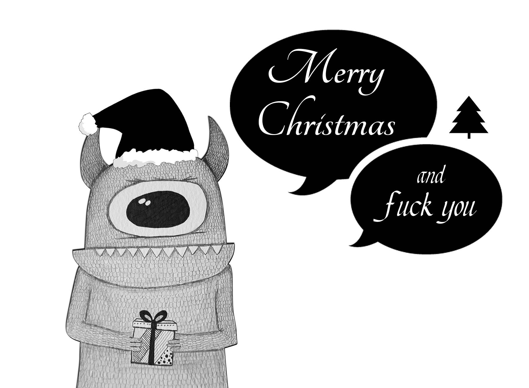 POSTCARD FUCKING CHRISTMAS