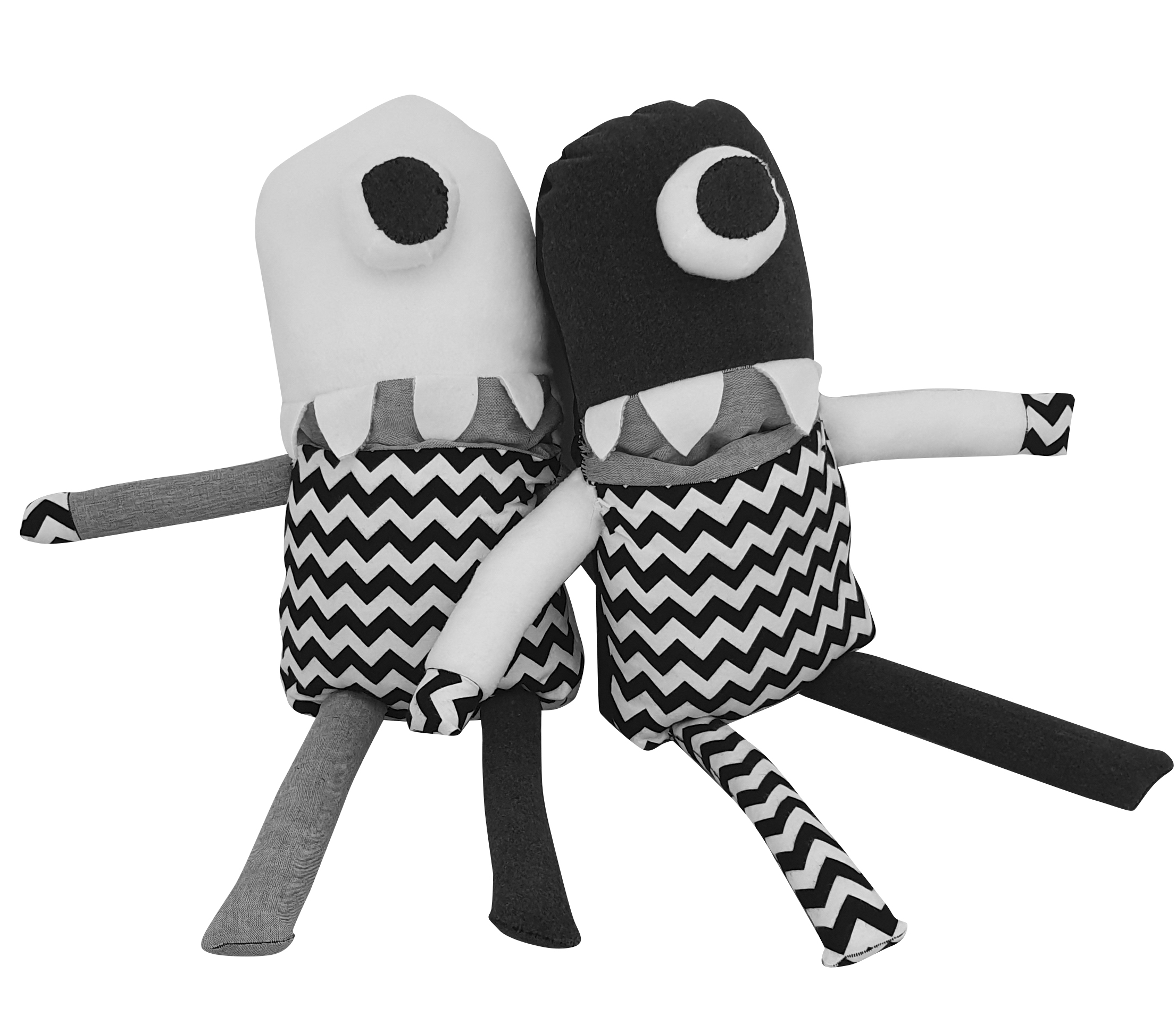 COTTON MONSTERS TWINS