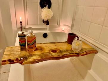 Rustic Bath board