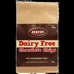D&D Gluten Free Chocolate Chips 160g