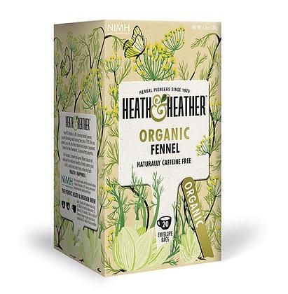 Heath & Heather Organic Fennel 20 Bags