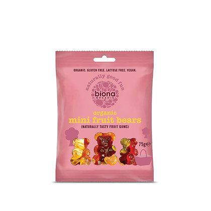 Biona Organic Vegan Mini Fruit Bears 75g