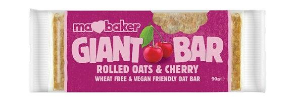 Ma Baker Rolled Oats & Cherry Flapjack Giant Bar