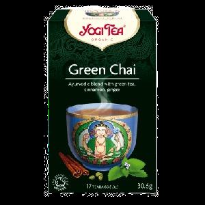Yogi Tea Green Chai Organic Tea 17 Tea Bags