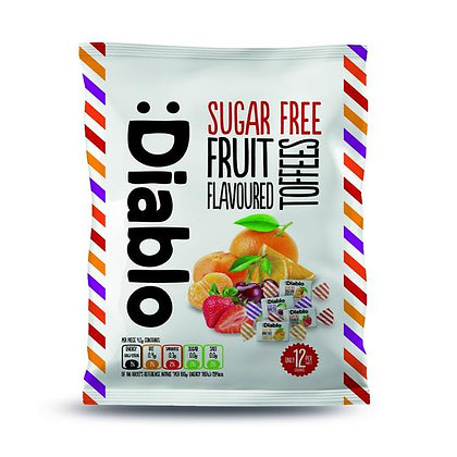 Diablo Sugar Free Toffees Sweets with Sweeteners