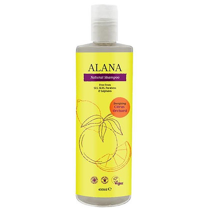 Alana Citrus Orchard Natural Shampoo 400ml