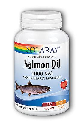 Solaray Salmon Oil 1,000mg 90 Softgel Capsules
