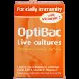 Optibac Probiotics For Daily Immunity with Vitamin C 30 Capsules