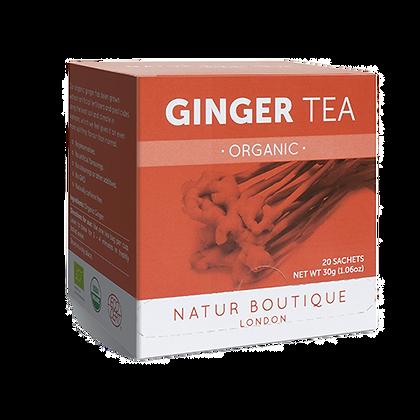 Natur Boutique Organic Ginger Tea 20 Tea Bags