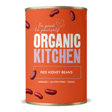 Organic Kitchen Organic Canned Red Kidney Beans 400g
