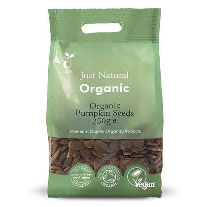 Just Natural Organic Pumpkin Seeds 250g