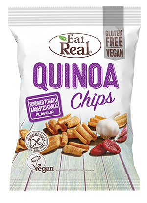 Eat Real Sundried Tomato & Roasted Garlic Quinoa Chips 30g