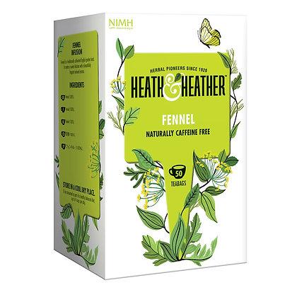 Heath & Heather Fennel 50 bags