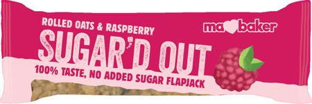 Ma Baker Raspberry Sugar'd out Flapjack Bar
