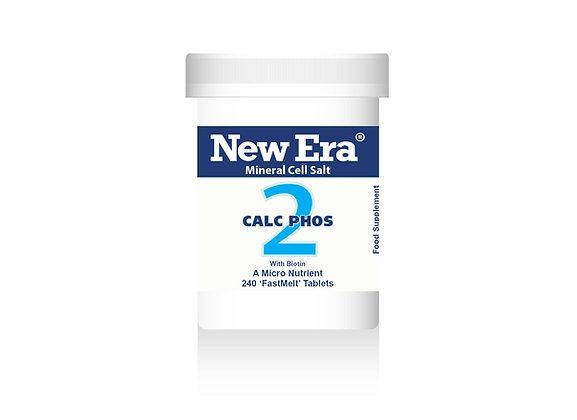 New Era No.2 Calc Phos 240 Tablets