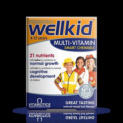Vitabiotics Wellkid Multi-Vitamin Smart Chewable 30 Tablets