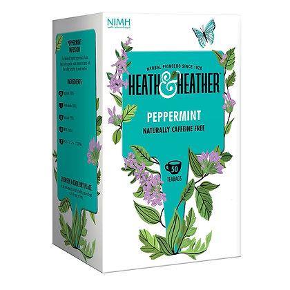 Heath & Heather Peppermint 50 bags
