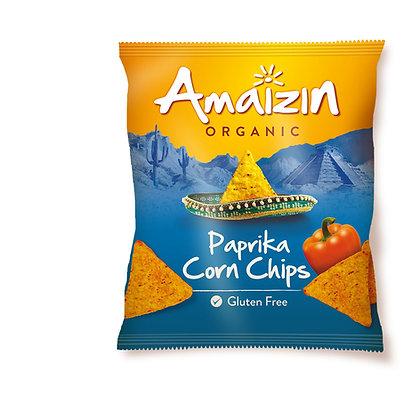Amaizin Organic Paprika Corn Chips 75g