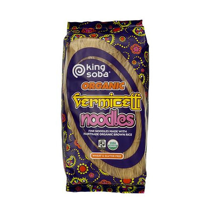 King Soba Organic Vermicelli Noodles 250g