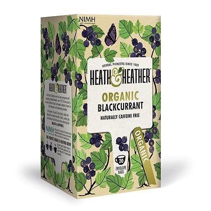 Heath & Heather Organic Blackcurrant 20 Bags