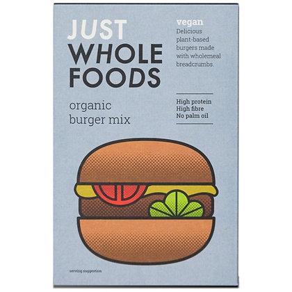 Just Whole Foods Organic & Vegan Burger Mix 125g