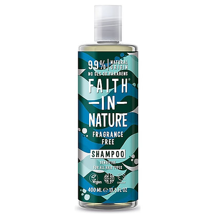 Faith In Nature Fragrance Free Shampoo 400ml