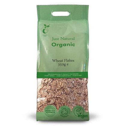 Just Natural Organic Wheat Flakes 350g