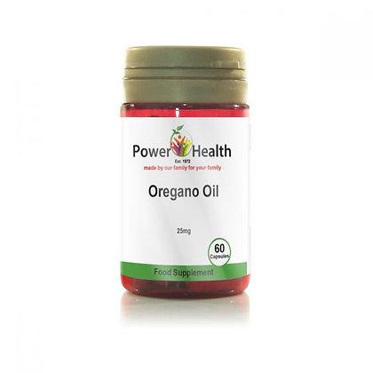 Power Health Oregano Oil 25mg 60 Capsules