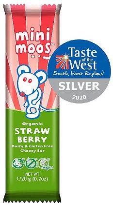 Mini Moos Strawberry Chocolate Bar