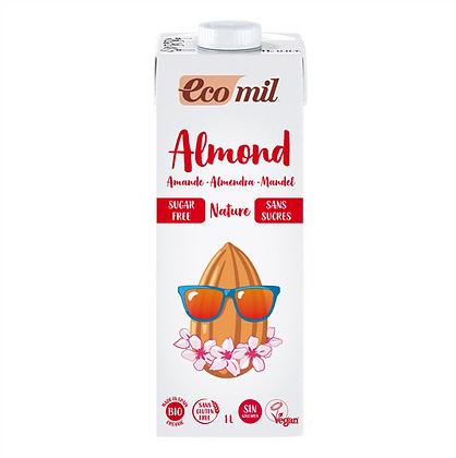 Ecomil Almond Milk Sugar-Free Bio 1 L