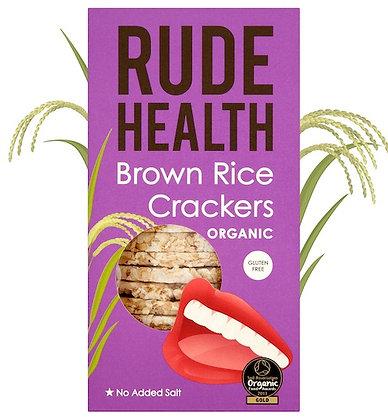 Rude Health Brown Rice Crackers 130g