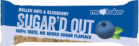 Ma Baker Blueberry Sugar'd out Flapjack Bar