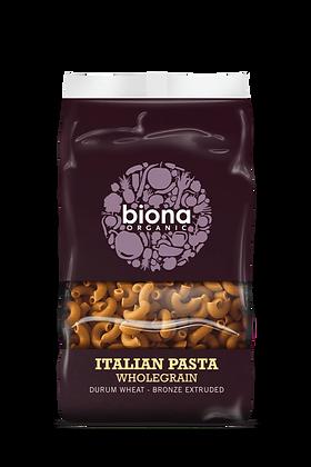 Biona Organic Wholewheat Macaroni Pasta 500g